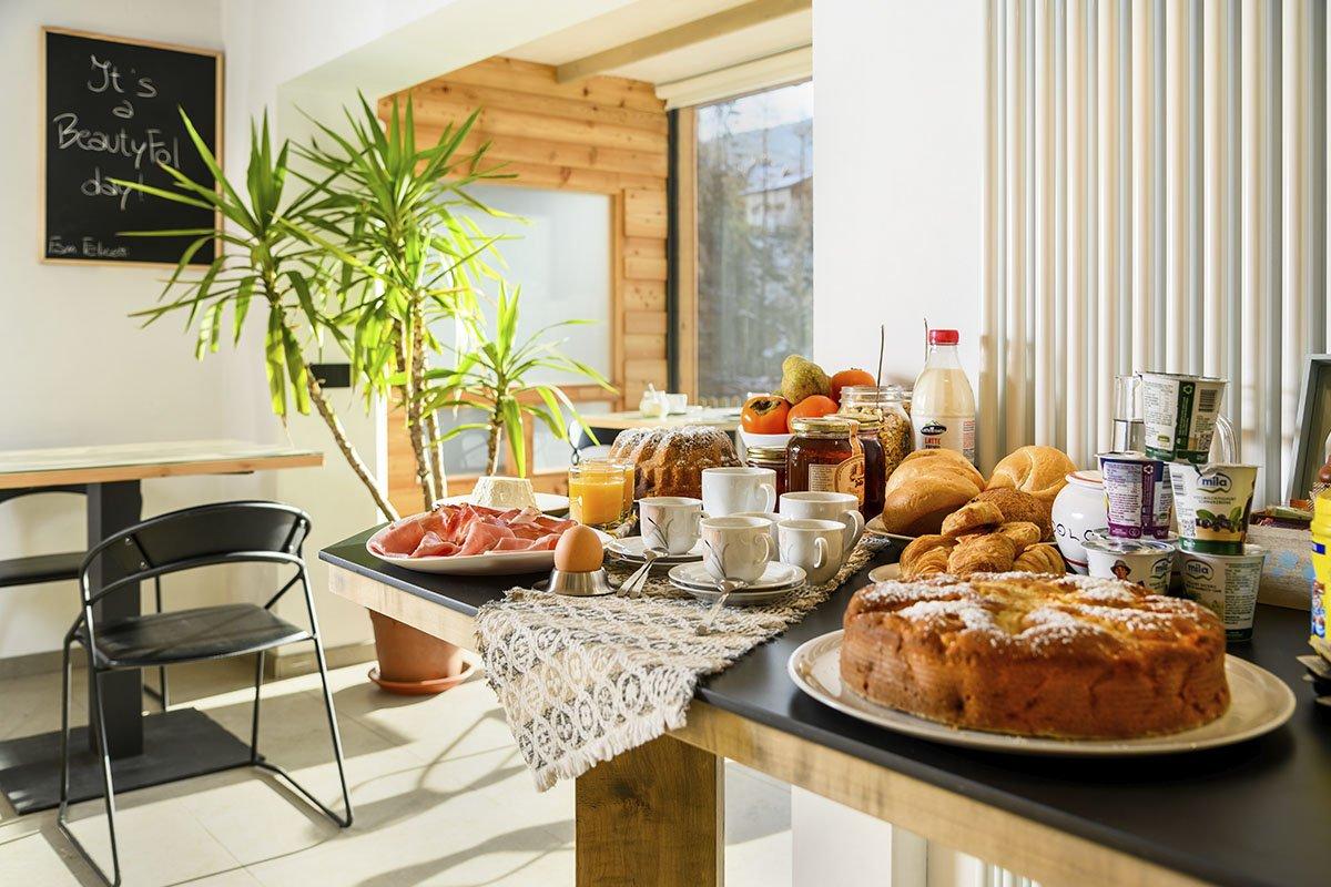 Una colazione luminosa